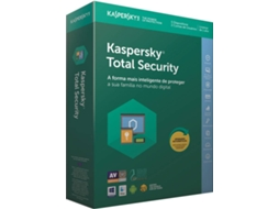 Software KASPERSKY Total Security 2018 5 Users — Software / Segurança
