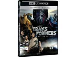 Blu-Ray 4k + Blu-Ray Transformers - O Último Cavaleiro — De: Do realizador Michael Bay | Com: Mark Whalberg, Anthony Hopkins, Josh Duhamel