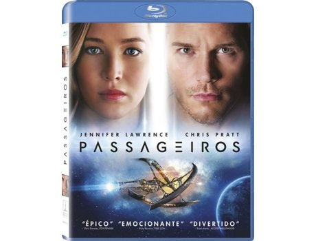 Blu-Ray Passageiros — Do realizador Morten Tyldum