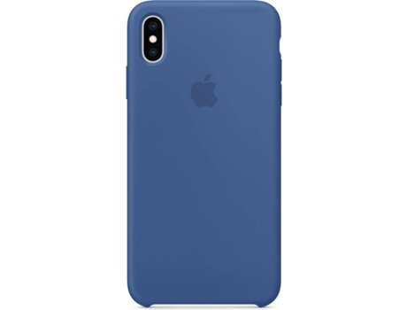 Capa APPLE iPhone XS Max Silicone Azul
