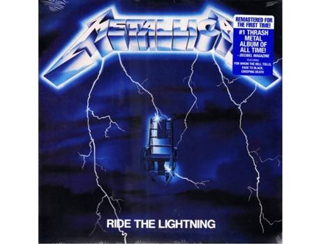 METALLICA Ride the lightning Mochila