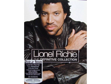 CD+DVD Lionel Richie - The Definitive Collection — Romântica
