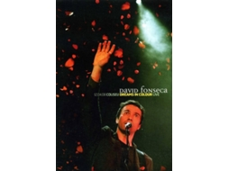 CD + DVD David Fonseca - Dreams in Colour — Pop-Rock