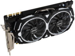 Placa Gráfica MSI GEFORCE GTX 1080 ARMOR 8GB DDR5 OC — GeForce GTX 1080 | 1657 MHz | 8192 DDR5X