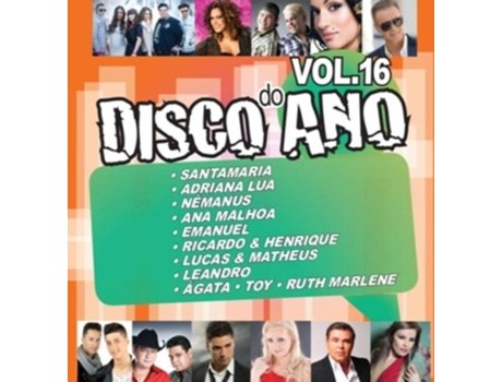 CD Vários - Disco do Ano Vol.16 — Popular