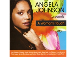 CD Angela Johnson - A Woman's Touch Vol. 1