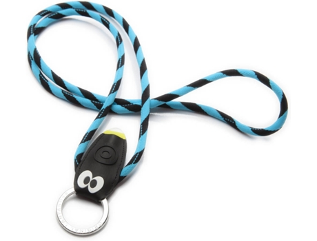 Fita Porta-Chaves O. LANYARDS Bug Light Azul — Para Chaves