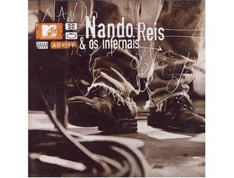 CD Nando Reis - MTV Ao Vivo — Pop-Rock