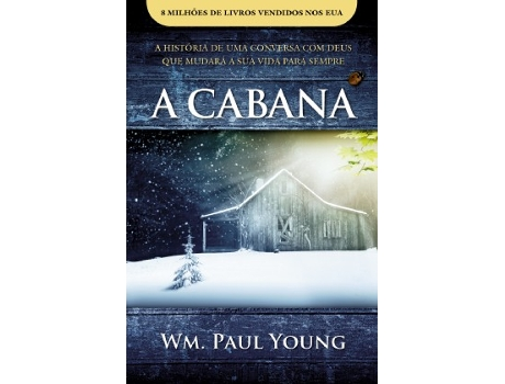 Livro A Cabana de William Paul Young — Romance Traduzido