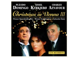 CD Plácido Domingo - Christmas in Vienna III — Clássica