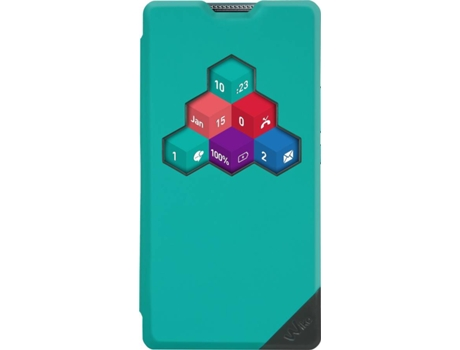 Capa WIKO WiCube Wiko Robby 3G Azul — Compatibilidade: Wiko Robby 3G
