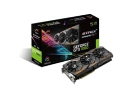 Placa Gráfica ASUS GTX 1060 ROG STRIX OC 6GB DDR5 — GeForce GTX 1060 | 1645 MHz | 6GB GDDR5