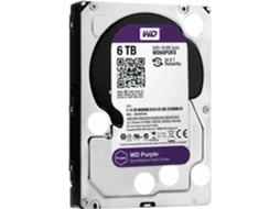 Disco Interno 3.5'' WESTERN DIGITAL  6TB Purple WD60PURX — 3.5'' / 6 TB / SATA3 6 Gb/s