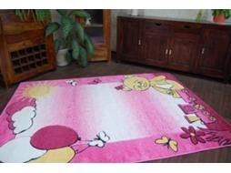 Tapete DYWANY LUSZCZOW Happy C210 (Rosa - 140x190 cm ...
