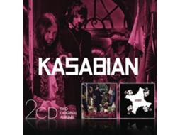 CD Kasabian - West Ryder Pauper Lunatic Asylum Velociraptor — Pop-Rock