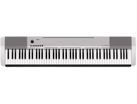 Piano Digital CASIO CDP-130 Prateado — 88 teclas / 10 sons