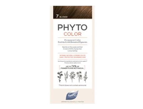 Coloração PHYTO Color Permanente Cor 7 Louro