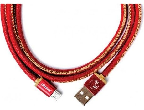 Cabo PLUSUS Lifestar Handcrafted Ruby Sunset — microUSB - USB | 1 m | 2.4 A