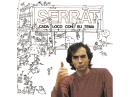 CD Joan Manuel Serrat - Cada Loco con su Tema — Pop-Rock