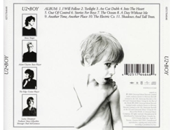 CD U2 - Boy — Pop-Rock