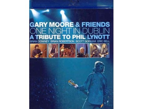 CD/DVD Gary Moore - One Night In Dublin: A Tribute To Phil Lynott — Pop-Rock