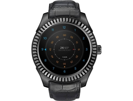 Smartwatch NO.1 D7W Preto — Bluetooth 4.0 | 550 mAh | Android e iOS
