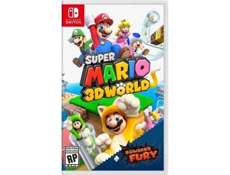 Jogo Nintendo Switch Super Mario 3D World + Bowser's Fury