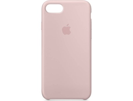 Capa APPLE Silicone Sand iPhone 7, 8 Rosa — Compatibilidade: iPhone 7, 8