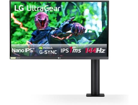 Monitor Gaming LG 27GN880-B (27'' - 1 ms - 144 Hz - AMD FreeSync)