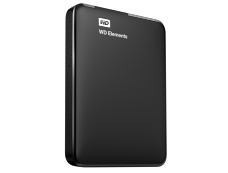 "Disco Externo 2.5"" Western Digital Elements 500GB USB 3.0 Preto"