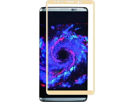 Película Glass MUVIT Galaxy S8 Plus Moldura Dourada — Compatibilidade: Galaxy S8 Plus