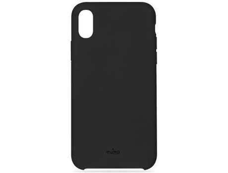 Capa PURO Icon iPhone X Preto — Compatibilidade: iPhone X