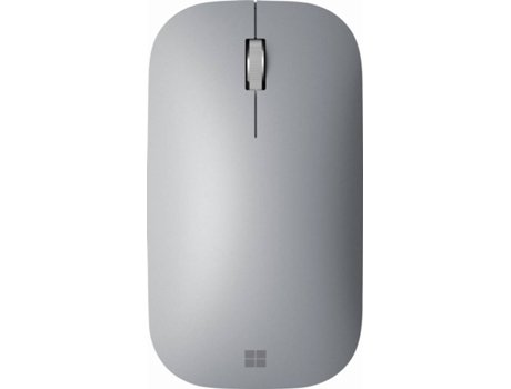 Rato MICROSOFT Surface Mobile (Bluetooth - Prateado) — 4.2 GHz | 4 Botões