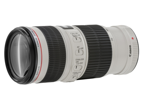 Objetiva CANON EF 70-200mm 4L IS USM — Abertura: f/32