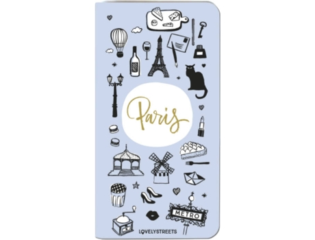 Powerbank LOVELY STREETS Paris New Design 4000 — 4000 mAh