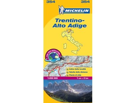 Livro Mapa Local Trentino, Alto Adige de Vários Autores