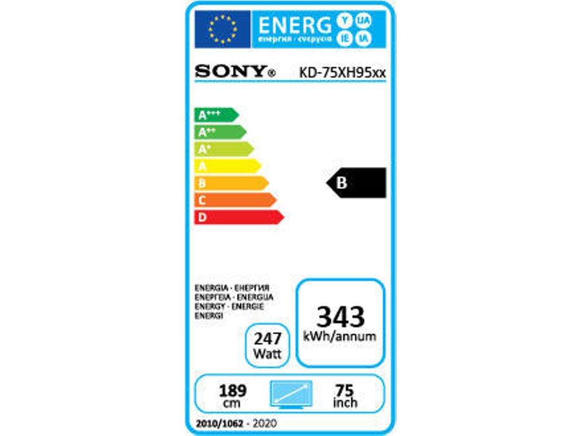TV SONY KD-75XH9505 (LED - 75'' - 191 cm - 4K Ultra HD - Smart TV) |  Worten.pt