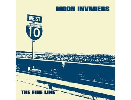 CD The Moon Invaders - The Fine Line