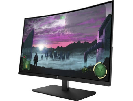 Monitor Gaming Curvo HP 27X (27'' - 5 ms - 144 Hz - FreeSync) — LED VA | 1920x1080