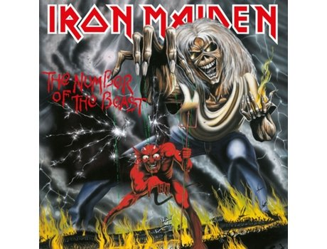 Vinil Iron Maiden - The Number Of The Beast - Lp — Metal / Hard