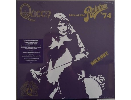 Vinil Queen - Live At The Rainbow (Deluxe) — Pop-Rock