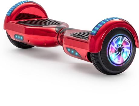 Hoverboard E Rides 6 5tl Puro Vermelho Autonomia 2 H Velocidade Máx 12 Km H Worten Pt