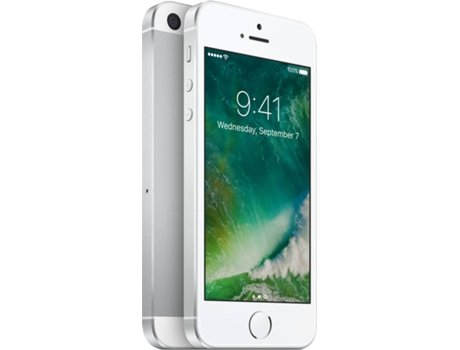 Smartphone MEO Apple iPhone SE 32GB Prateado — iOS 10 / 4'' / 4G / A9 Dual Core 1,84 GHz