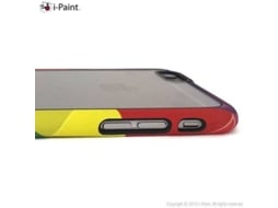 Capa iPhone 6, 6s, 7, 8 I-PAINT Ghost Multicor — Compatibilidade: iPhone 6, 6s, 7 ,8