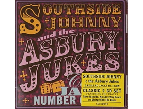 CD Southside Johnny & The Asbury Jukes - Cadillac Jacks Number One Son