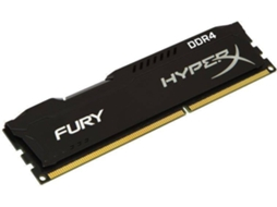 Memória RAM DDR4 KINGSTON HyperX Fury 8 GB (2133 MHz - CL 14 - Preto) — 8 GB | 2133MHz /DDR4