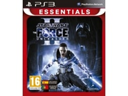 Jogo PS3 Star Wars - The Force Unleashed II - Essentials — Ação/Aventura / Idade Mínima Recomendada: 16