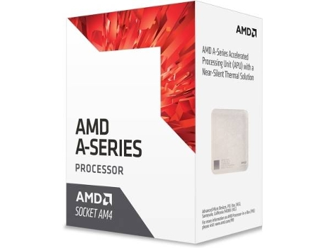 Processador AMD A12-9800E (Socket AM4 - Quad-Core - 3.1 GHz) — AMD A12 9800E | Socket AM4