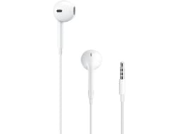 EarPods APPLE A1472 Branco — Compatibilidade: iOS | Jack 3.5mm