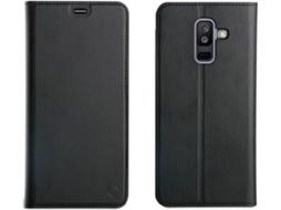 b885e1d9d Capa MUVIT Book Samsung Galaxy A6+ 2018 Preto